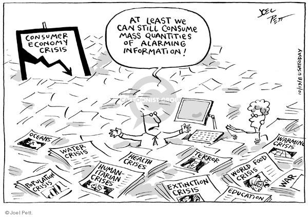 Joel Pett  Joel Pett's Editorial Cartoons 2008-10-13 political media