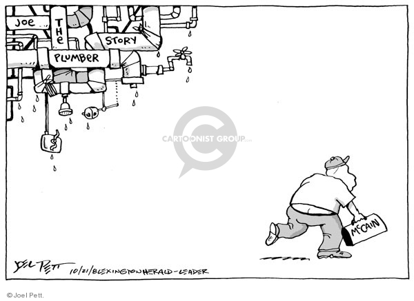 Joel Pett  Joel Pett's Editorial Cartoons 2008-10-21 2008 election