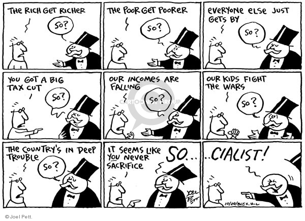 Cartoonist Joel Pett  Joel Pett's Editorial Cartoons 2008-10-24 middle