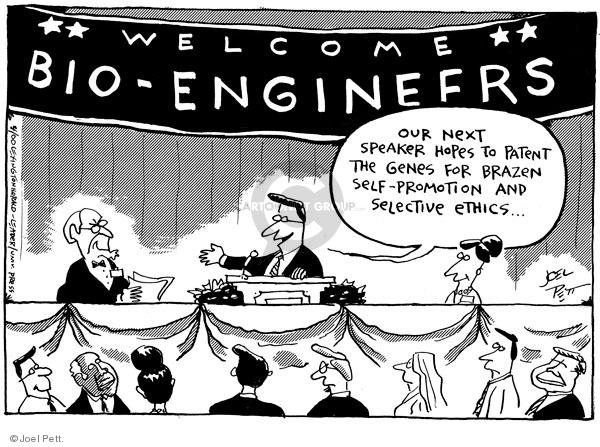 Cartoonist Joel Pett  Joel Pett's Editorial Cartoons 2000-04-04 greed