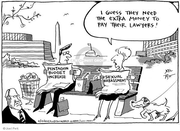 Cartoonist Joel Pett  Joel Pett's Editorial Cartoons 2000-05-01 case