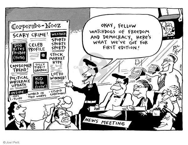 Joel Pett  Joel Pett's Editorial Cartoons 2000-05-25 democracy