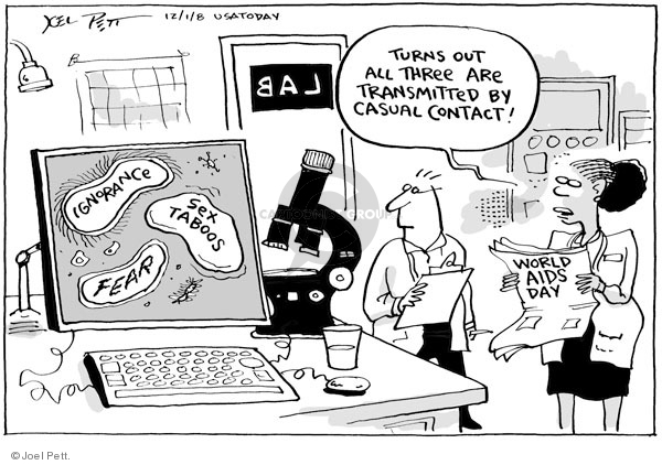 Joel Pett  Joel Pett's Editorial Cartoons 2008-12-01 disease