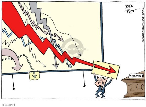 Joel Pett  Joel Pett's Editorial Cartoons 2008-12-09 admin
