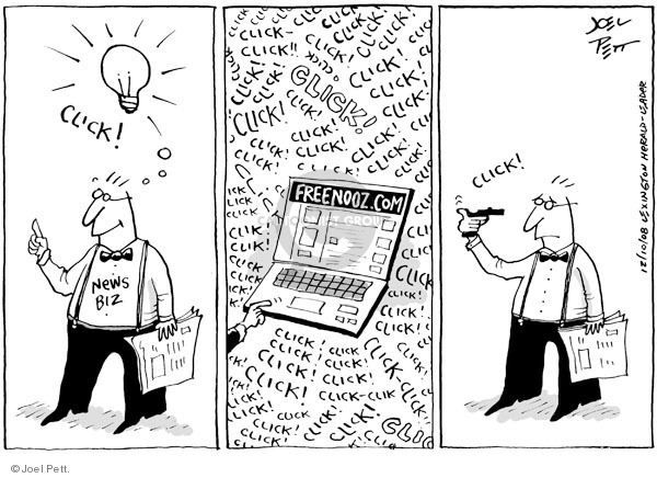 Joel Pett  Joel Pett's Editorial Cartoons 2008-12-10 internet