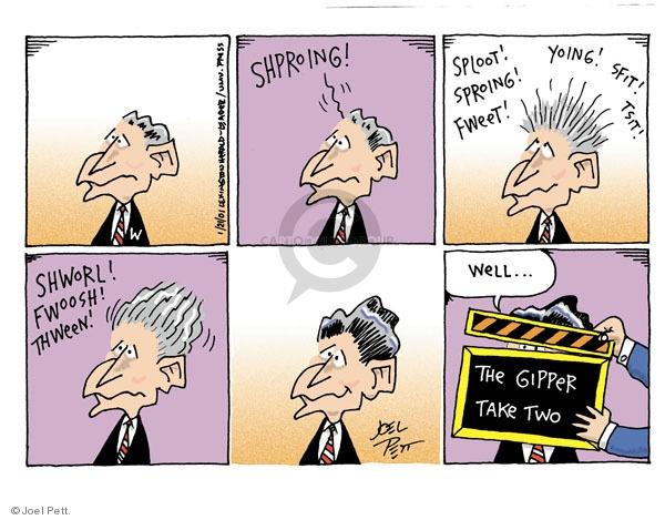 Joel Pett  Joel Pett's Editorial Cartoons 2001-01-21 republican president