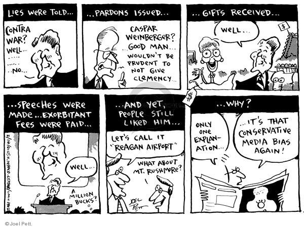 Cartoonist Joel Pett  Joel Pett's Editorial Cartoons 2001-02-14 Bill Clinton