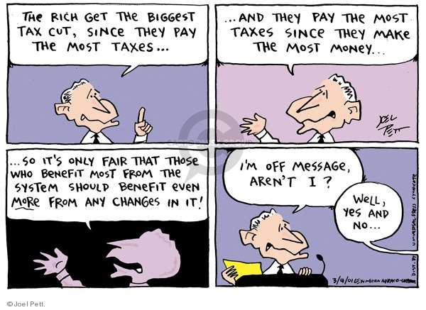 Cartoonist Joel Pett  Joel Pett's Editorial Cartoons 2001-03-04 George W. Bush