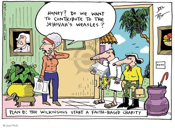Cartoonist Joel Pett  Joel Pett's Editorial Cartoons 2001-03-18 state
