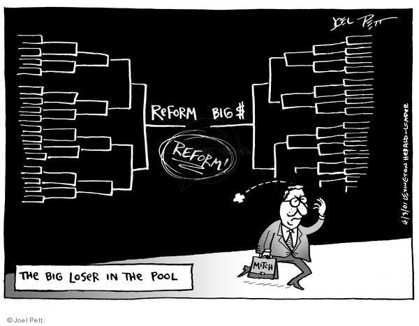 Cartoonist Joel Pett  Joel Pett's Editorial Cartoons 2001-04-03 sports betting