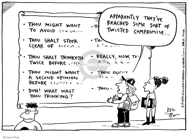 Joel Pett  Joel Pett's Editorial Cartoons 2001-04-04 civil liberty