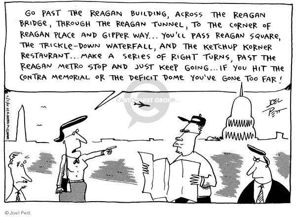 Joel Pett  Joel Pett's Editorial Cartoons 2001-04-05 federal budget