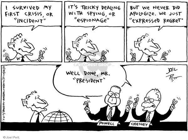 Joel Pett  Joel Pett's Editorial Cartoons 2001-04-18 state