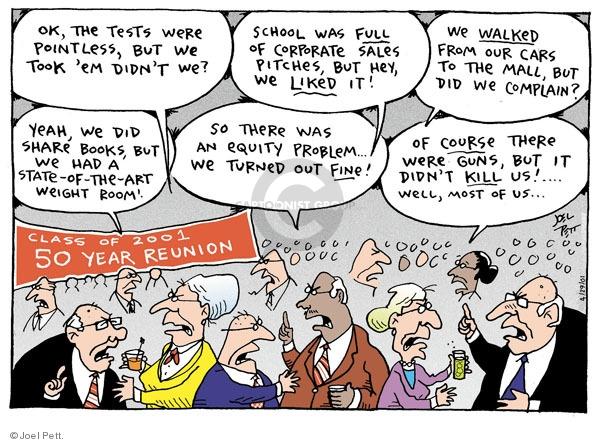 Joel Pett  Joel Pett's Editorial Cartoons 2001-04-29 effect