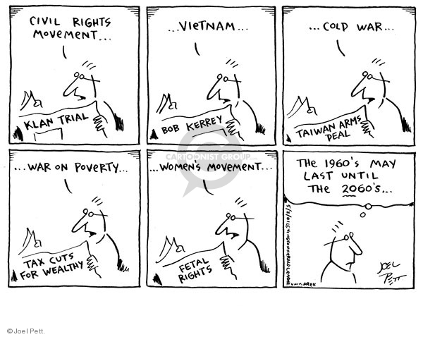 Joel Pett  Joel Pett's Editorial Cartoons 2001-05-02 eras