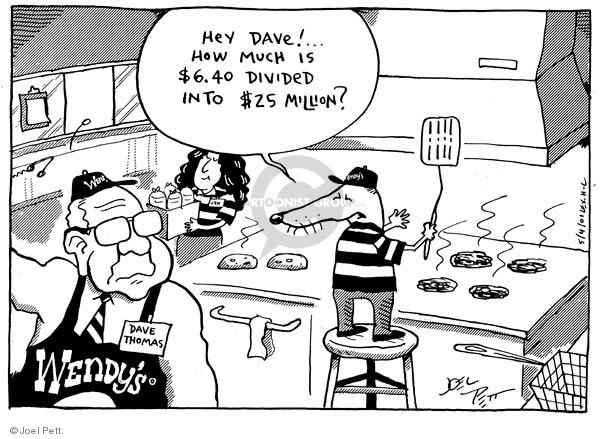 Joel Pett  Joel Pett's Editorial Cartoons 2001-05-04 $25