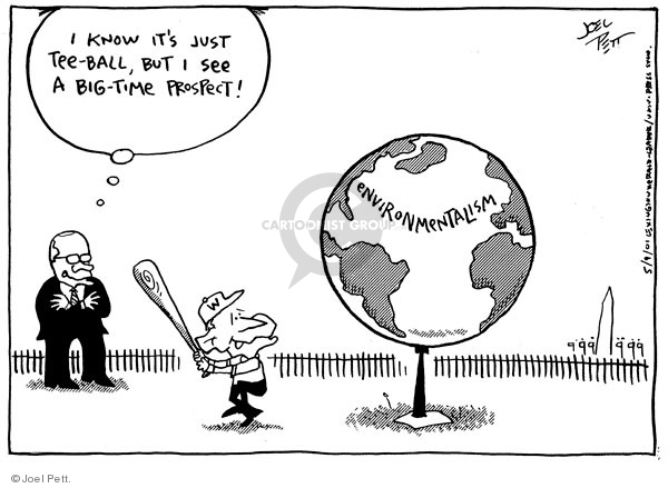 Joel Pett  Joel Pett's Editorial Cartoons 2001-05-09 admin