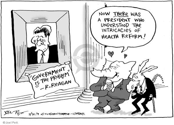 Joel Pett  Joel Pett's Editorial Cartoons 2009-07-31 republican president