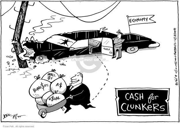 Joel Pett  Joel Pett's Editorial Cartoons 2009-08-06 answer