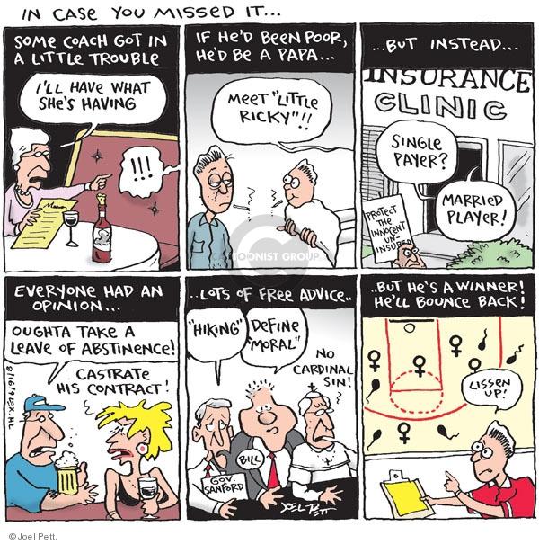 Cartoonist Joel Pett  Joel Pett's Editorial Cartoons 2009-08-16 case