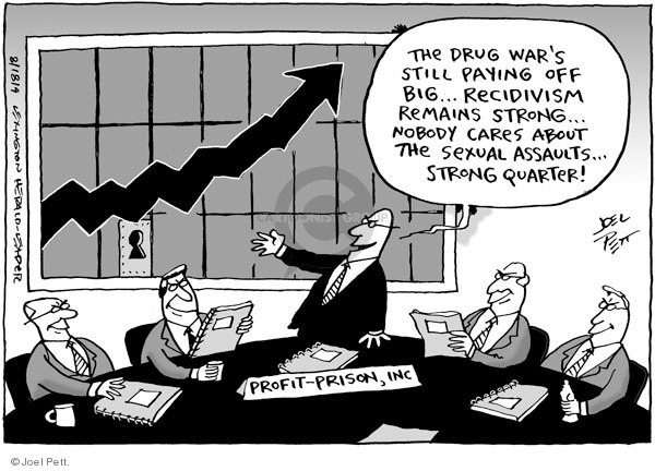 Joel Pett  Joel Pett's Editorial Cartoons 2009-08-18 drug