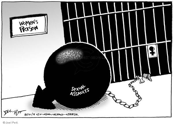 Joel Pett  Joel Pett's Editorial Cartoons 2009-08-21 gender