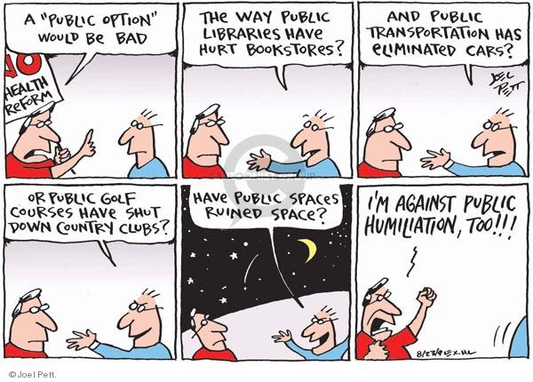 Joel Pett  Joel Pett's Editorial Cartoons 2009-08-23 ruin