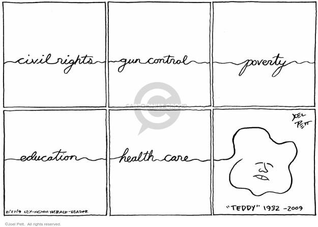 Joel Pett  Joel Pett's Editorial Cartoons 2009-08-27 value