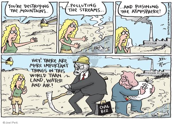 Cartoonist Joel Pett  Joel Pett's Editorial Cartoons 2009-09-20 fuel