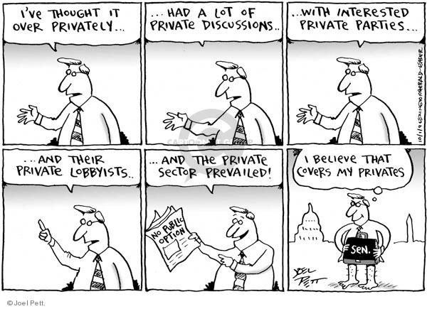 Joel Pett  Joel Pett's Editorial Cartoons 2009-10-01 no interest