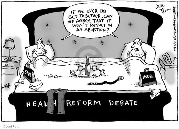 Cartoonist Joel Pett  Joel Pett's Editorial Cartoons 2009-10-02 congress health care