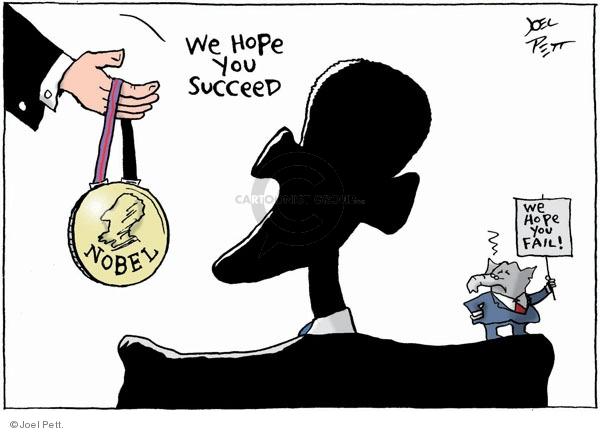 Joel Pett  Joel Pett's Editorial Cartoons 2009-10-11 award