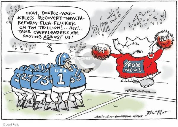 Joel Pett  Joel Pett's Editorial Cartoons 2009-10-21 issue policy