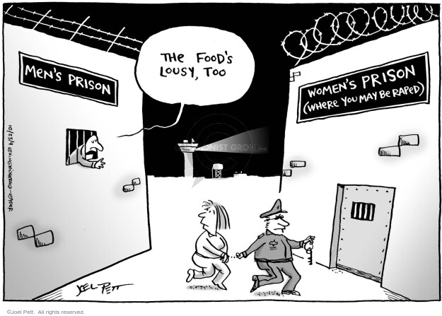 Joel Pett  Joel Pett's Editorial Cartoons 2009-10-23 incarceration