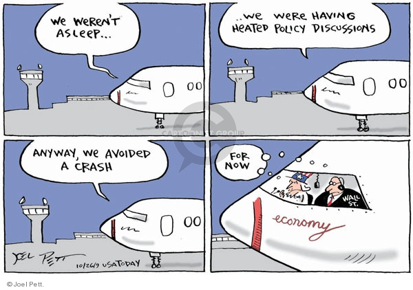 Cartoonist Joel Pett  Joel Pett's Editorial Cartoons 2009-10-26 oversight