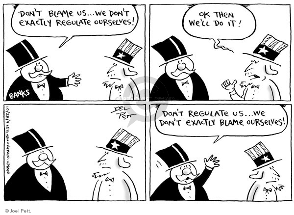 Cartoonist Joel Pett  Joel Pett's Editorial Cartoons 2009-10-28 oversight