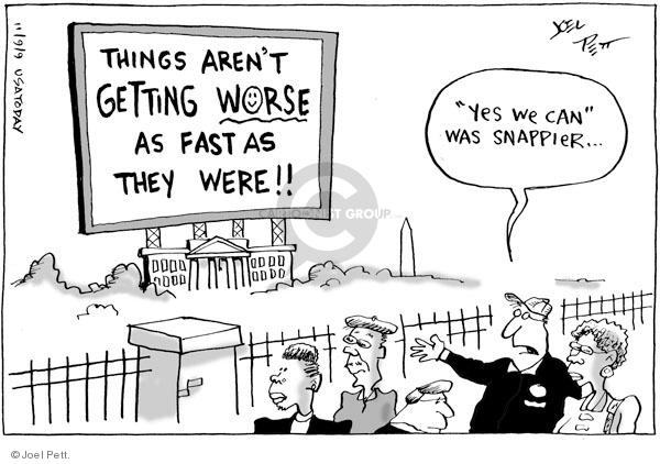 Joel Pett  Joel Pett's Editorial Cartoons 2009-11-09 rhetoric