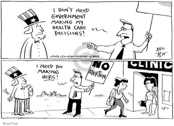 Joel Pett  Joel Pett's Editorial Cartoons 2009-11-10 female