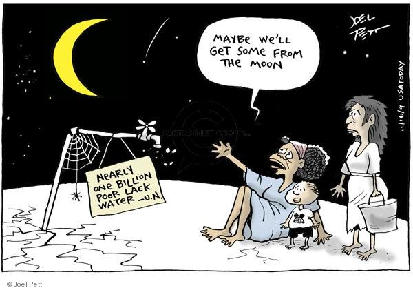 Joel Pett  Joel Pett's Editorial Cartoons 2009-11-16 supply