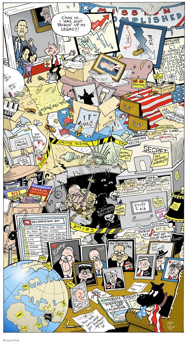 Joel Pett  Joel Pett's Editorial Cartoons 2009-08-21 republican president