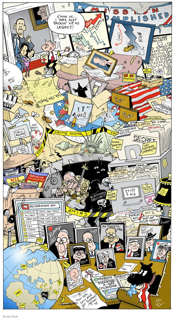 Cartoonist Joel Pett  Joel Pett's Editorial Cartoons 2009-08-21 photo