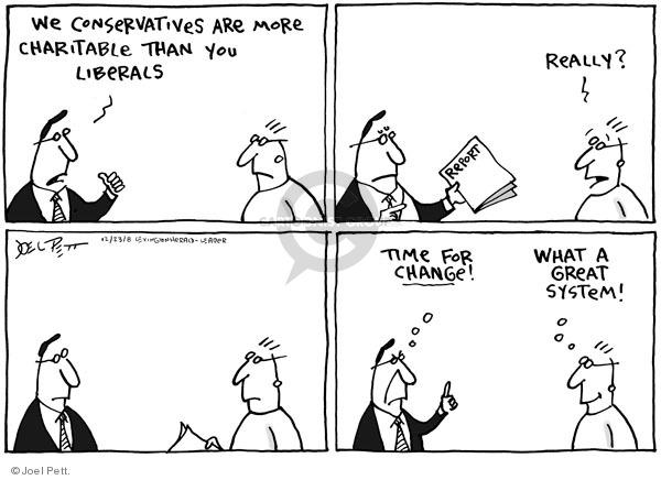 Joel Pett  Joel Pett's Editorial Cartoons 2008-12-23 time change