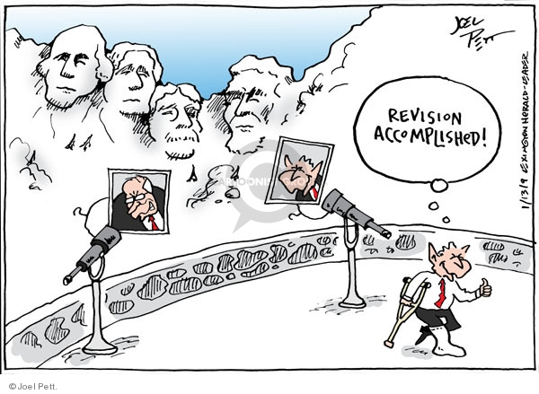 Joel Pett  Joel Pett's Editorial Cartoons 2009-01-13 republican president