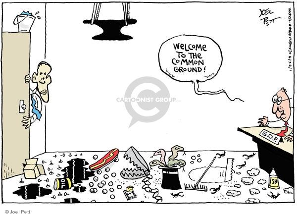 Joel Pett  Joel Pett's Editorial Cartoons 2009-01-25 republican president
