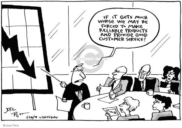 Joel Pett  Joel Pett's Editorial Cartoons 2009-01-26 economy