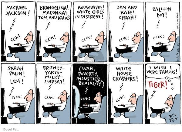 Cartoonist Joel Pett  Joel Pett's Editorial Cartoons 2009-12-03 click