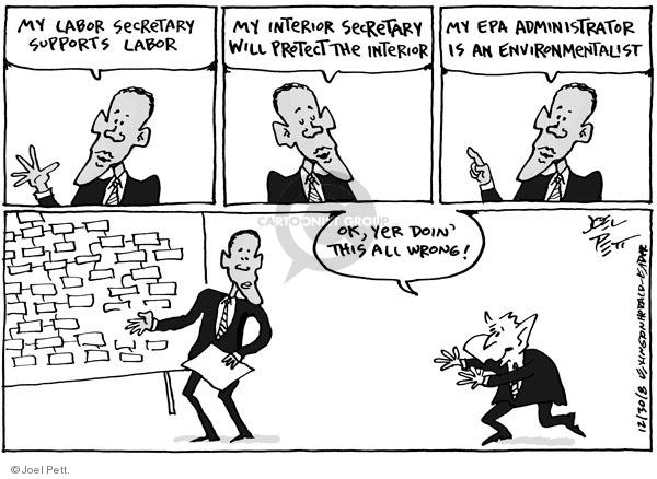 Joel Pett  Joel Pett's Editorial Cartoons 2008-12-31 republican president