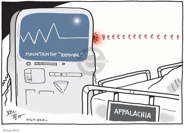 Joel Pett  Joel Pett's Editorial Cartoons 2009-12-06 coal