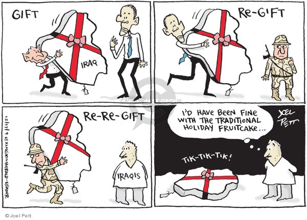 Cartoonist Joel Pett  Joel Pett's Editorial Cartoons 2009-12-17 traditional