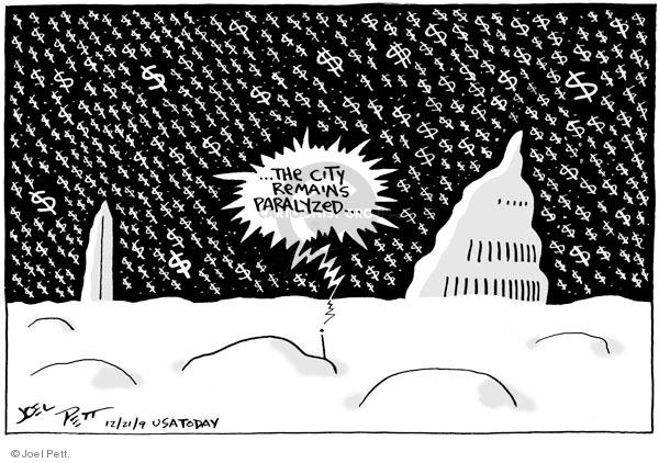 Joel Pett  Joel Pett's Editorial Cartoons 2009-12-21 remain